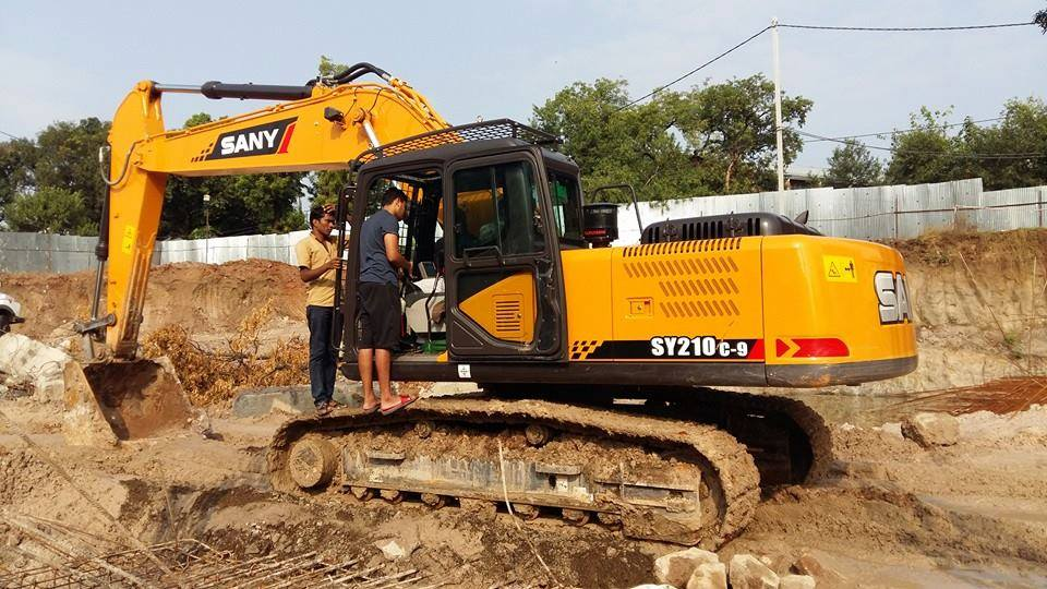 SANY Excavator machine's operating knowledge you should know