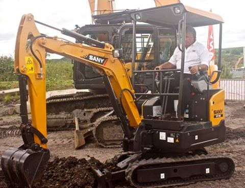 How to operate a SANY mini excavator: training tips for novice operators