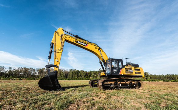 SANY Crawler Excavator Operating Techniques