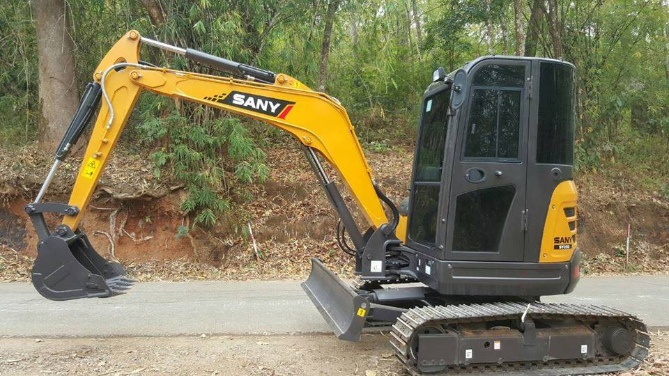 SANY Mini Digger Applications and Operating Guidelines