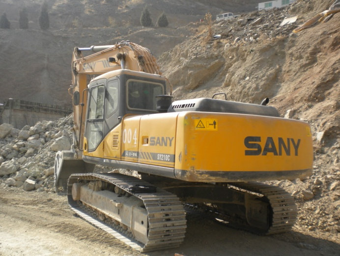 SY210C used in a highway construction project.jpg