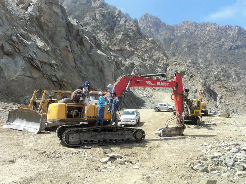 SY230C-8 used in a winding road construction project.jpg