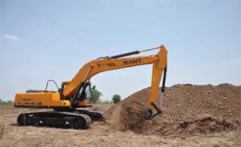 SANY Excavator in India and Saudia Arabia