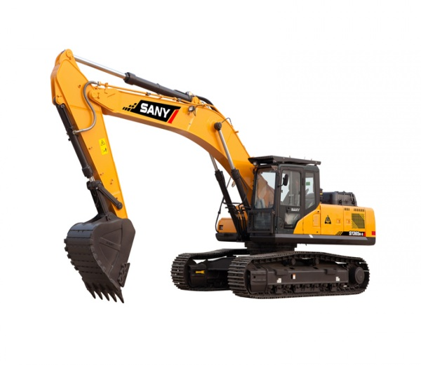 SANY excavator equipment 7.5 ton SY75C small digger used in house construction