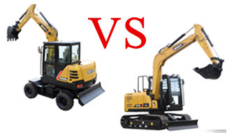 The Pros and Cons of Excavators on Wheels