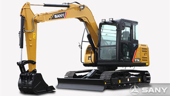 SANY SY75C, best choice for 7 tonne small-sized excavators