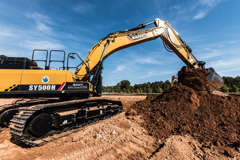 Click here and find out why SANY excavator top performance