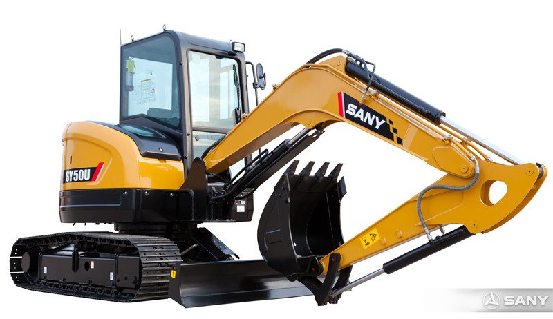 SANY excavator launches new 5 ton excavator