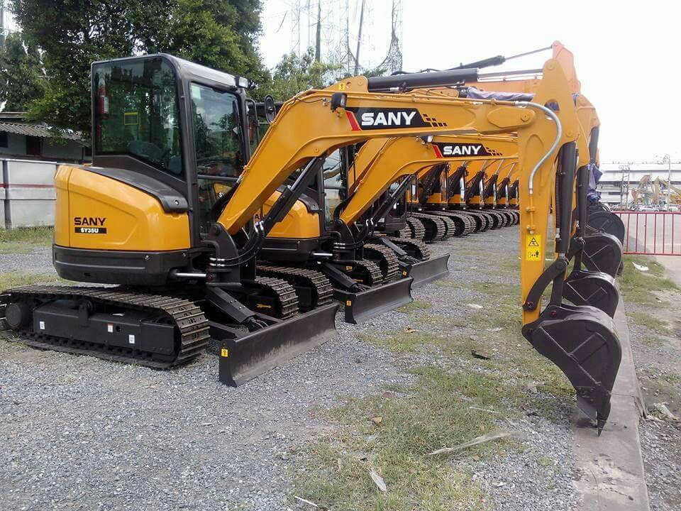 Come to explore features of SANY's latest 3 ton excavator