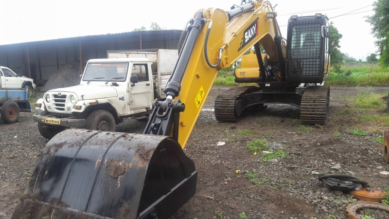 SANY excavator machine so popular in Kenya municipal engineering