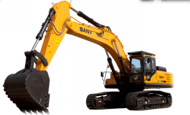 SANY SY465H excavator optimize motion trail of bucket's bottom