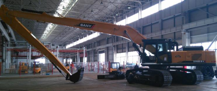 SANY SY465H excavator-Working devices