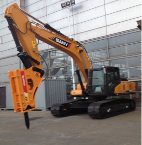 SANY 23.5 Ton Digger Special Design for Middle East to break