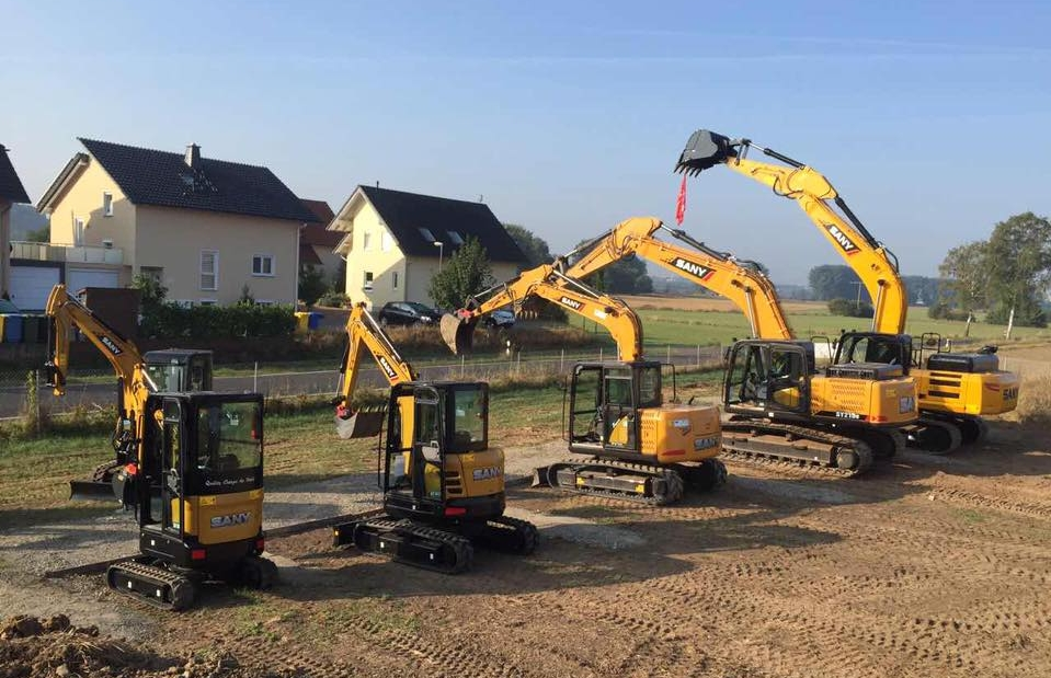 Tips about how to select SANY hydraulic excavators