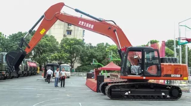 SANY remote control excavator to play its role in rescues