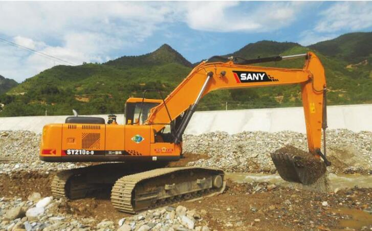 How to maintain SANY digger machine in tough environment