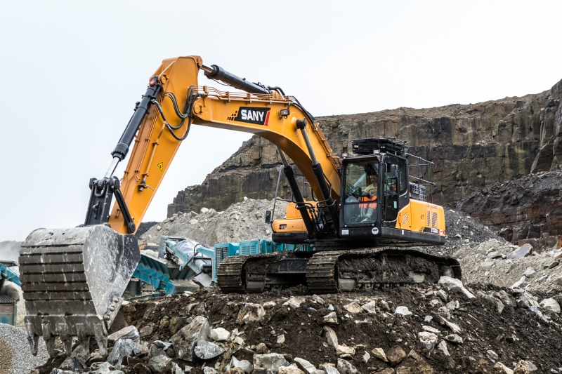 SANY Excavator Machine Maintenance Guidelines