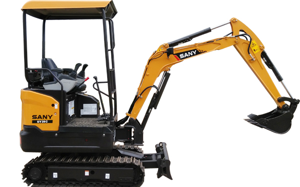 SANY SY20C excavator, 2 Ton digger Small Body with Big Power
