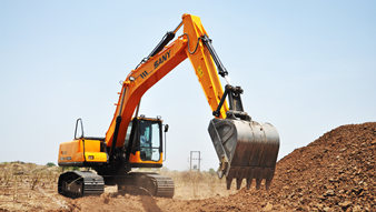 Structure and working principle of excavators