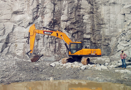 Select a bucket with right capacity for your excavator