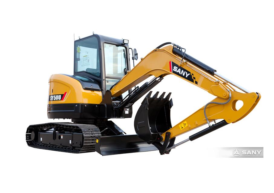 Four reasons you can't miss a SANY 5 ton excavator