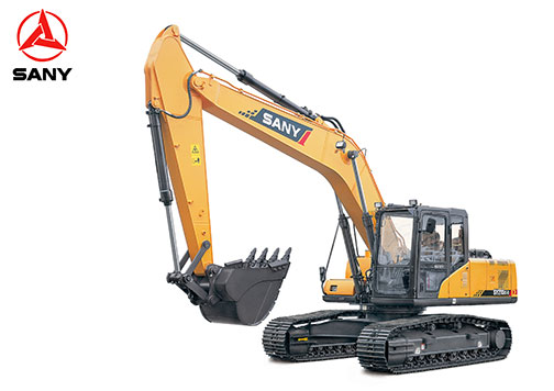 New SANY SY215C Excavator Features SANY Live GPS System