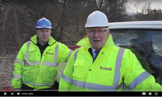 High Praise for Sany SY215C Excavators in Scottish Hydroelectric Project